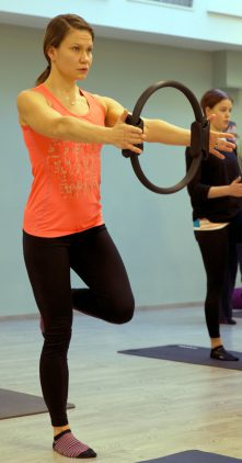 Pilates taso II -rengastunti