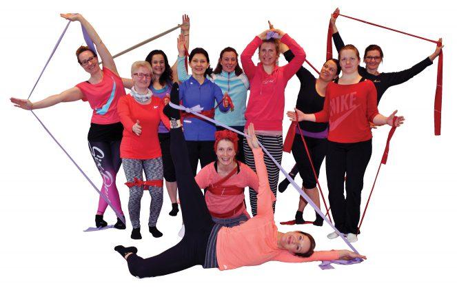 Pilates taso II ryhmäkuva