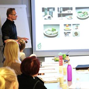 Ravintovalmentaja-koulutus kuva