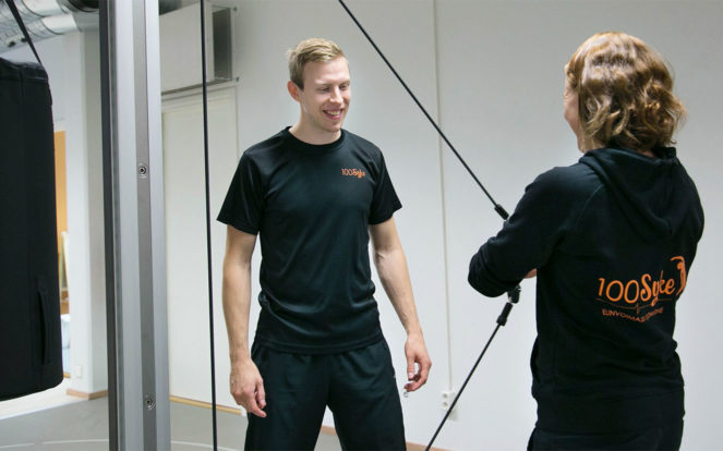 PhysioTrainer Sami kuva